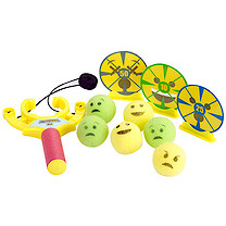 Emoticon Sling Shot Target Game
