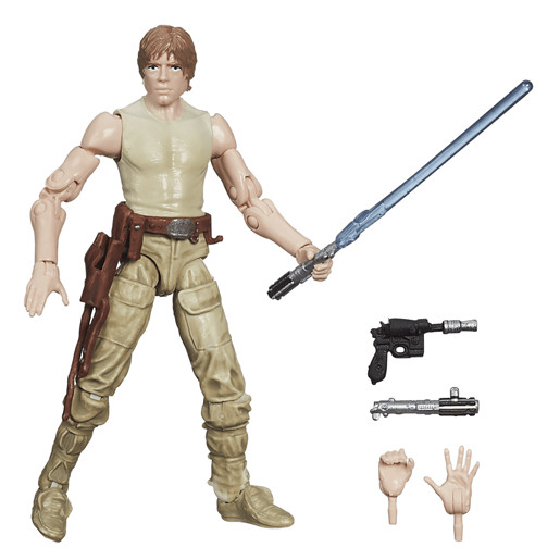 Star Wars Black Series 9.5cm Figure - Luke Skywalker (Dagobah) - Damaged Packaging