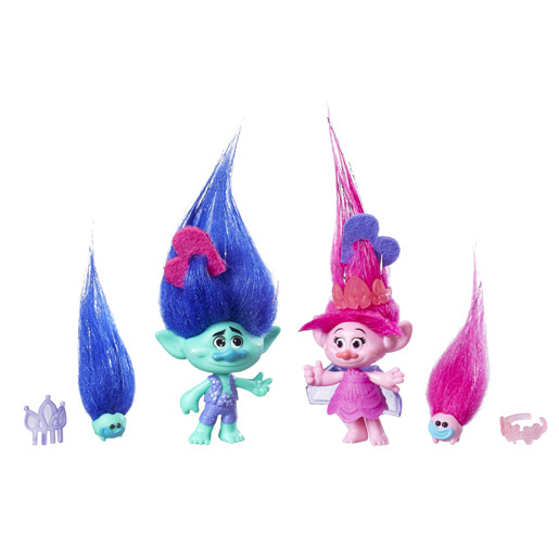 DreamWorks Trolls Poppy and Branch Figures