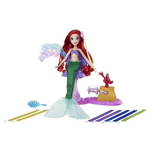 Image of Disney Princess Ariel's Royal Ribbon Salon Doll
