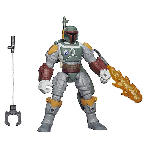 Star Wars Hero Mashers Deluxe Boba Fett Figure