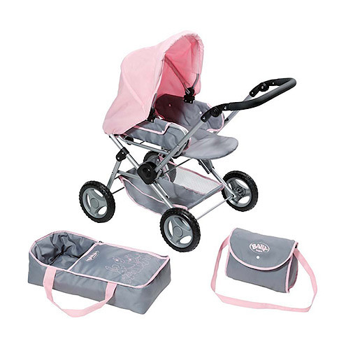 Baby Born Deluxe 3in1 Pram Set