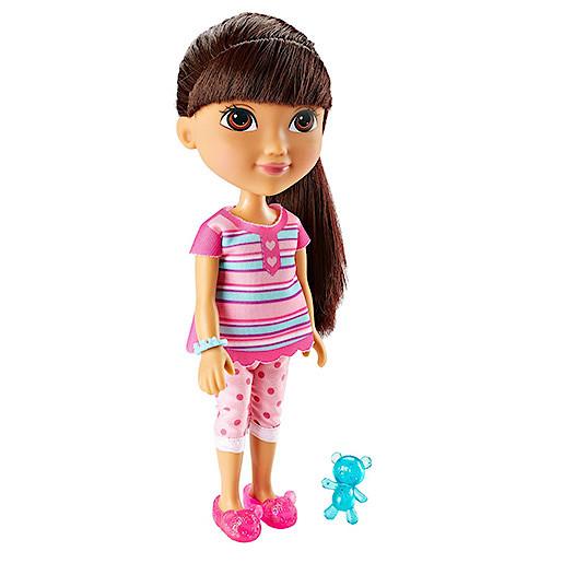 Image of Dora & Friends 20cm Slumber Party Dora Doll