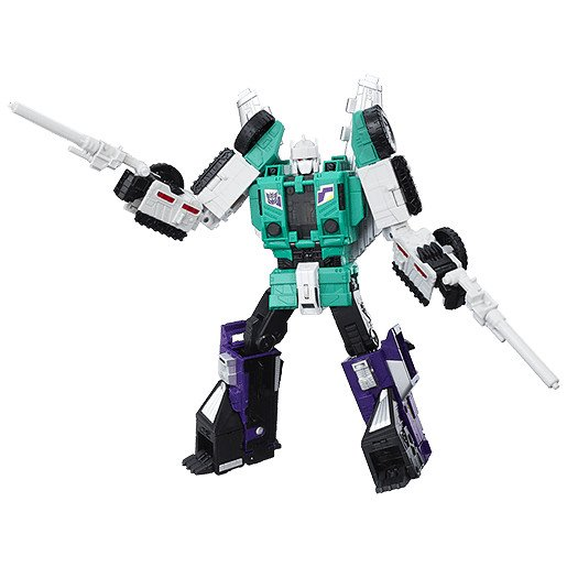 Transformers Generations Titans Return Leader Class Figures - Six Shot