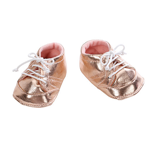 Baby Annabell Shoes  Gold