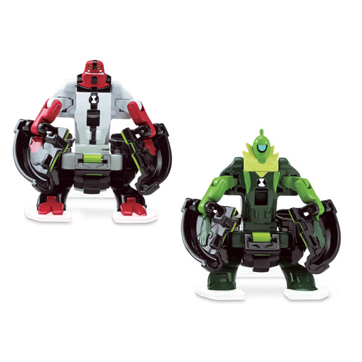 Ben 10 Omni Launch Battle Figures Refill - Fourarms and Wildvine