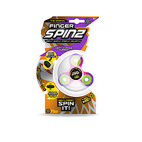 Finger Spinz Heat Change Rubber Toy with Accessories - Purple