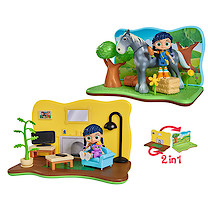 Wissper 2 in 1 Grass World Playset