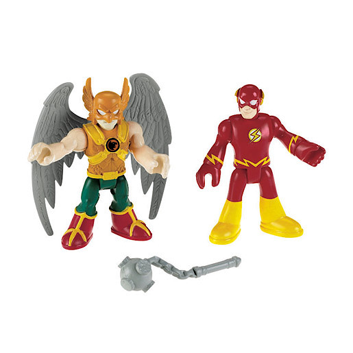Fisher-Price Imaginext DC Super Friends - Hawkman and The Flash