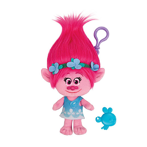 Image of DreamWorks Trolls Mega Soft Toy Keychain - Poppy
