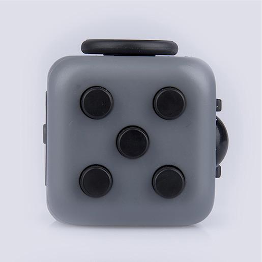 Fidget Cube Original Anti-Stress Toy - Grey and Black By ZURU from TheToyShop