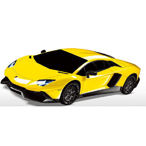 1:16 Remote Control Yellow Lamborghini Vehicle