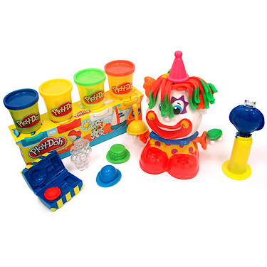 Play-Doh Clown Playset with 4<br /> Extra Tubs of Play-Doh