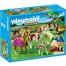 Playmobil 5227 Country Paddock with Horses and Foal