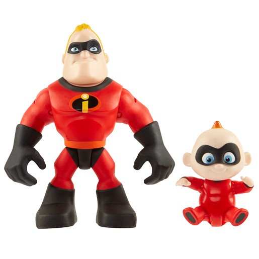 Disney Pixar Incredibles 2 Junior Supers - Mr. Incredible & Jack-Jack