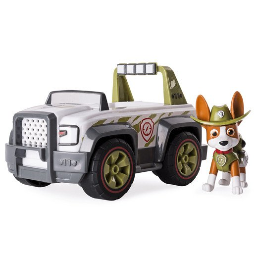 Paw Patrol Jungle Rescue Vehicle - Trackers Jungle Cruiser