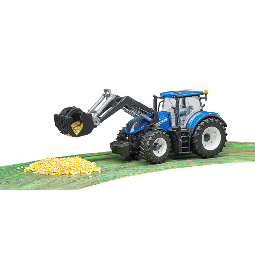 Bruder New Holland T7.315 Tractor with Frontloader