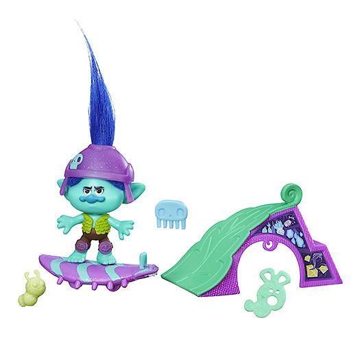 DreamWorks Trolls Branchs Skate N Skitter Figure Set