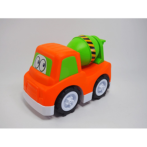 Pre School Vehicle - Mixer Cement Truck
