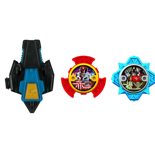 Power Ranger Ninja Steel 2 x Stars and Launcher - 43781