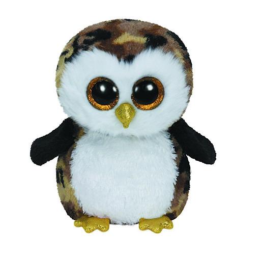 Ty Beanie Boo Buddy - Owliver the Owl Soft Toy