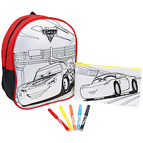 Cars 3 2 Pack Colour Your Own Bag Set