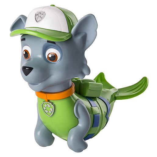 Picture of Paw Patrol Paddlin' Pups Bath Toy - Rocky Merpup