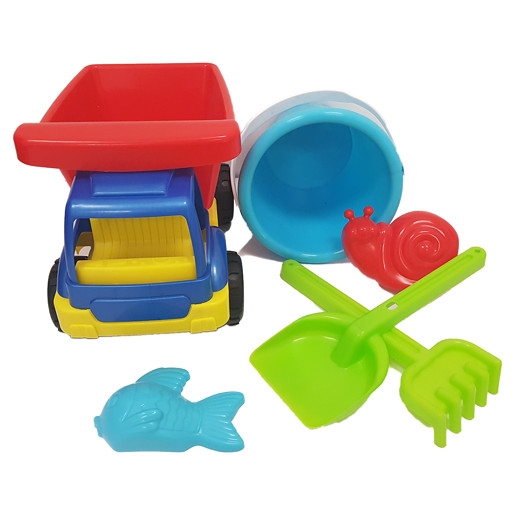 Summer Beach Truck Sand - Blue