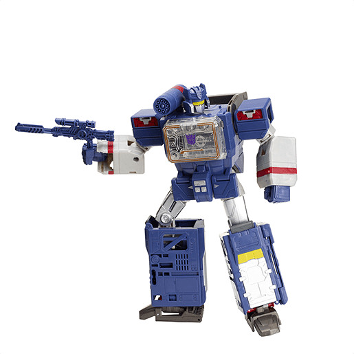 Transformers Generations Titans Return Leader Class Figures - Soundwave