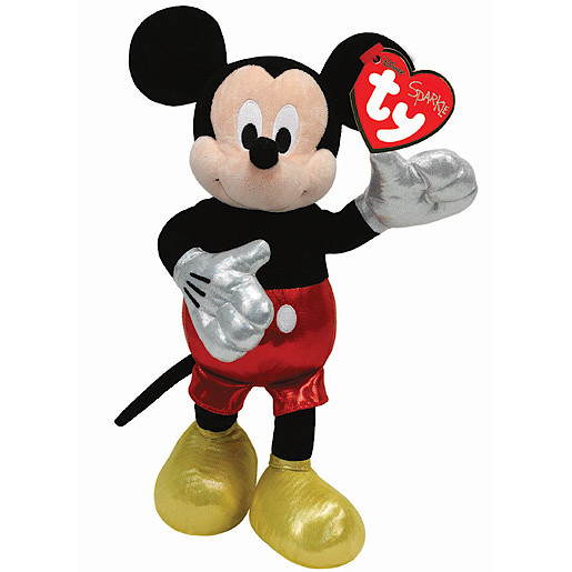 0a7b9cae5fa Ty Disney Laughing Mickey Beanie Boo Soft Toy