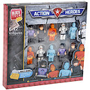 Block Tech 10 Block Figures - Action Heroes