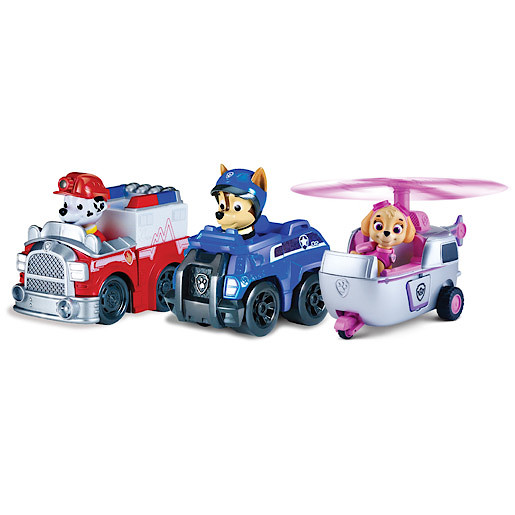 85f410b41 Paw Patrol Racers Team Pack - Chase, Marshall & Skye | The Entertainer