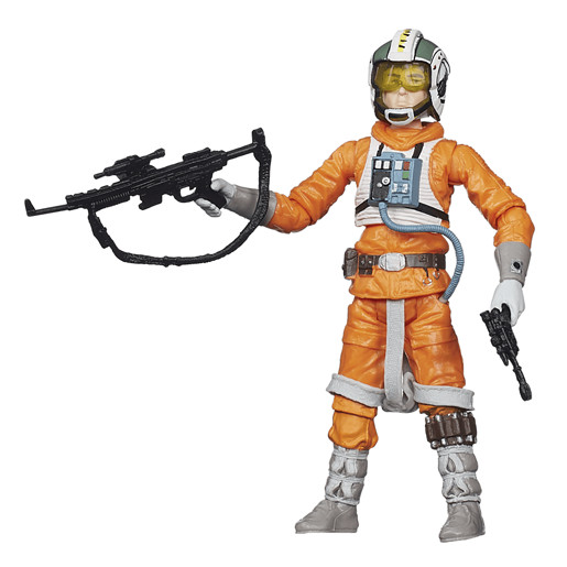 Star Wars Black Series 9cm Figure - Wedge Antilles - Damaged Packaging