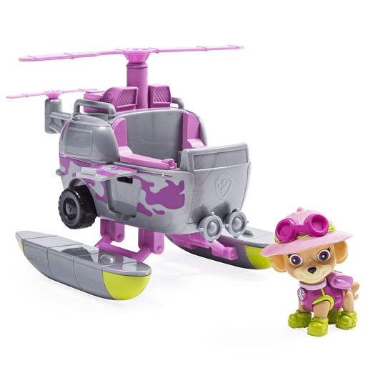Paw Patrol Jungle Rescue Vehicle - Skyes Jungle Copter