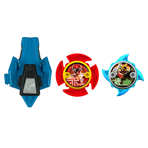 Power Ranger Ninja Steel 2 x Stars and Launcher - 43780