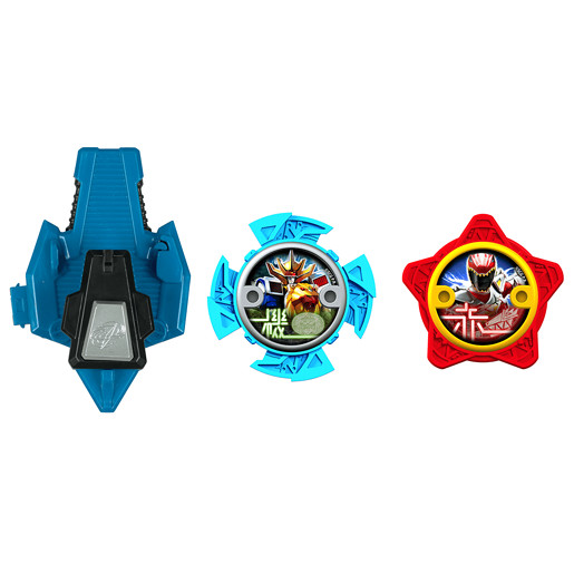 Power Ranger Ninja Steel 2 x Stars and Launcher - 43518