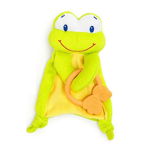 Image of Bright Starts Cosy Chew Teether Frog