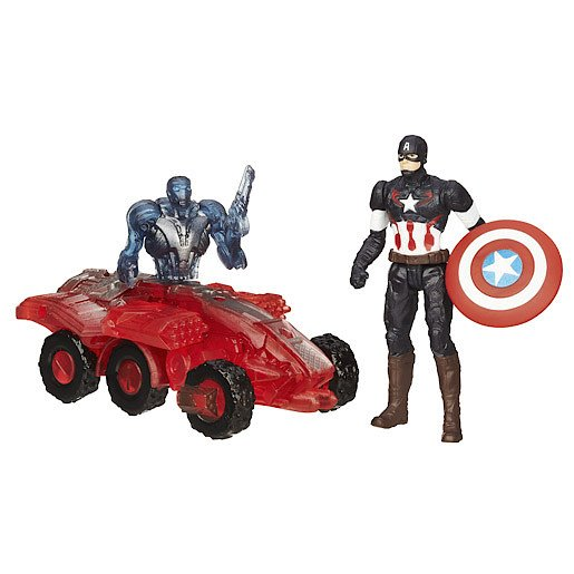 Image of Marvel Avengers Age of Ultron Captain America vs. Sub-Ultron 002