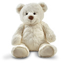 Snuggle Buddies 32cm Friendship Teddy- Pop (Cream)