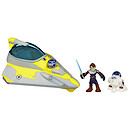Playskool Heroes Star Wars Jedi Force - Anakin Skywalker's Jedi Starfighter with R2-D2