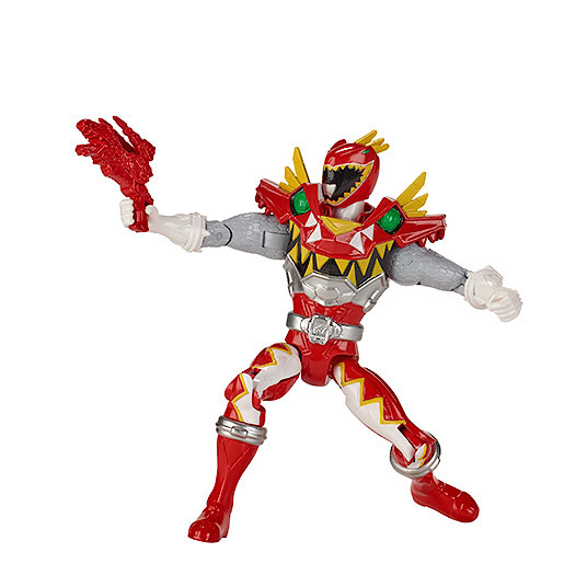 Power Rangers Dino Super Charge 12.5cm Action Figure  Super Charge Red Ranger