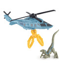 Matchbox Jurassic World Dino Transporter Vehicle and Figure - Raptor Copter