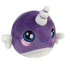 Animagic Plush Squishamals - Narwhal