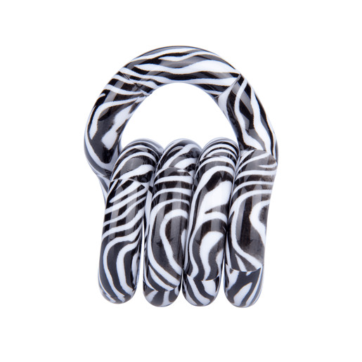Tangle Wild Fidget - White Zebra