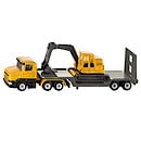 Die-Cast Low Loader with Excavator