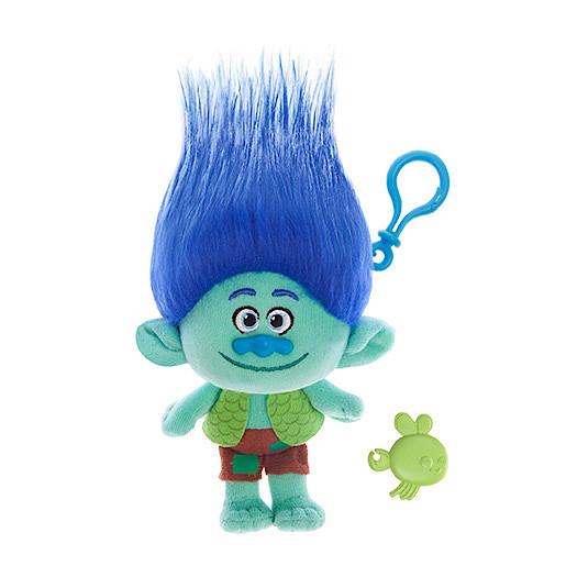 Image of DreamWorks Trolls Mega Soft Toy Keychain - Branch