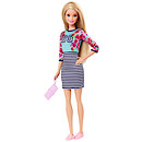 Barbie Fashionistas Doll - Stripy Skirt