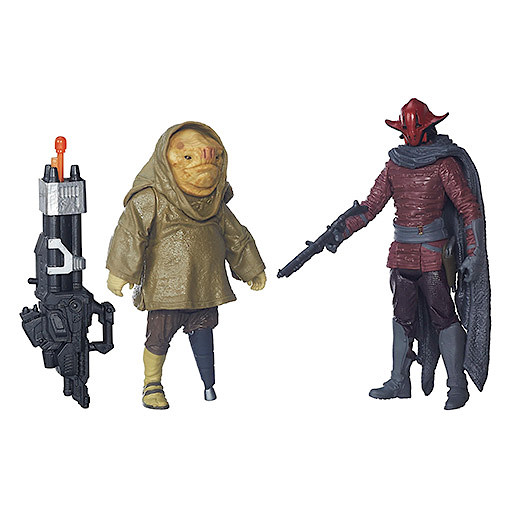 Star Wars The Force Awakens 2 Figure Pack - Sidon Ithano & First Mate Quiggold