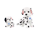 Animagic Ruby & Lottie Interactive Dalmatian Mother & Pup