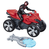 Marvel Spider-Man Blast N' Go Racers - Kid Arachnid